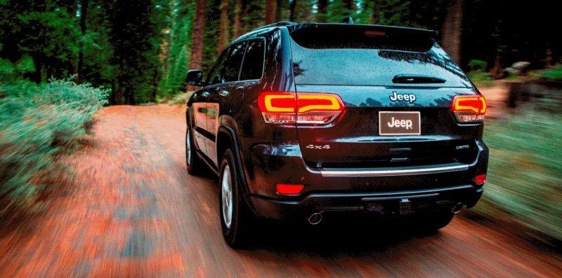 2014 Jeep Grand Cherokee Summit, Overland and Ltd GIF