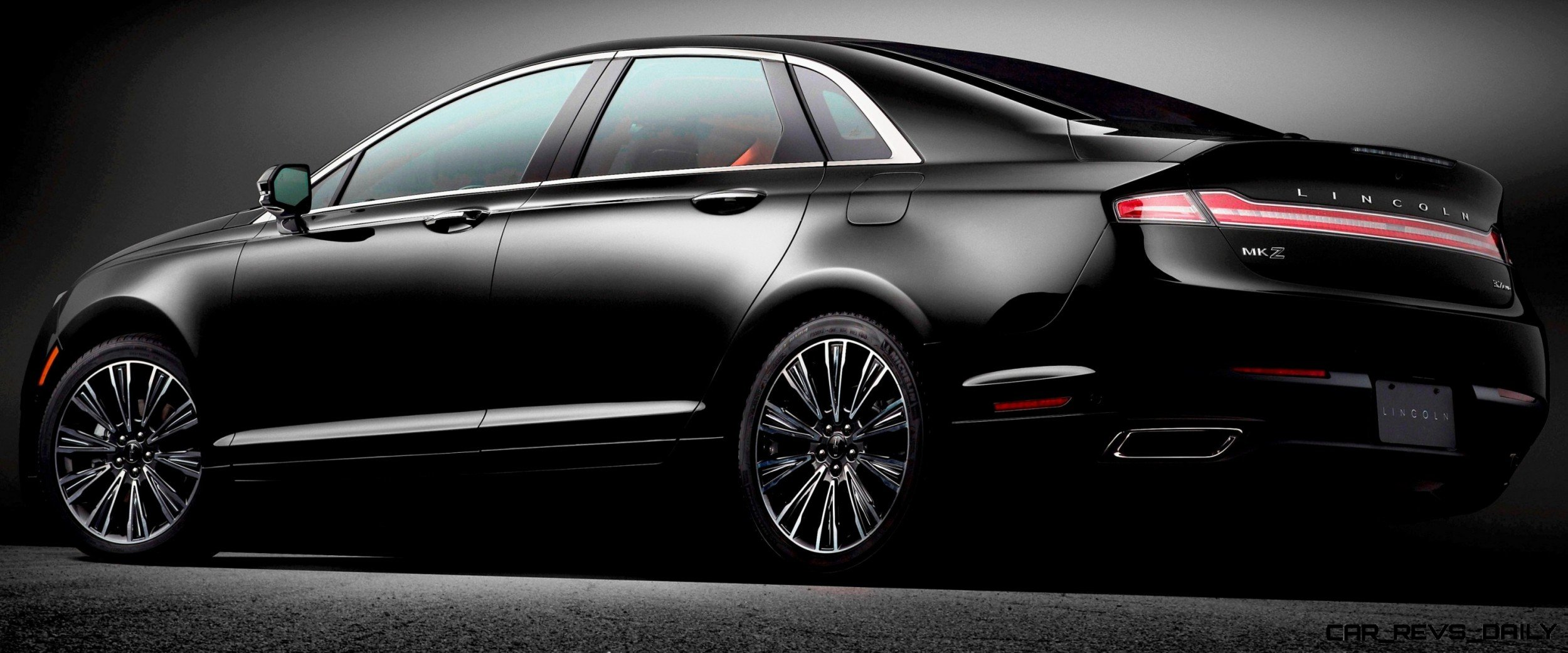 2014 lincoln mkz 3 7 awd shows very handsome kamm tail car revs. Black Bedroom Furniture Sets. Home Design Ideas