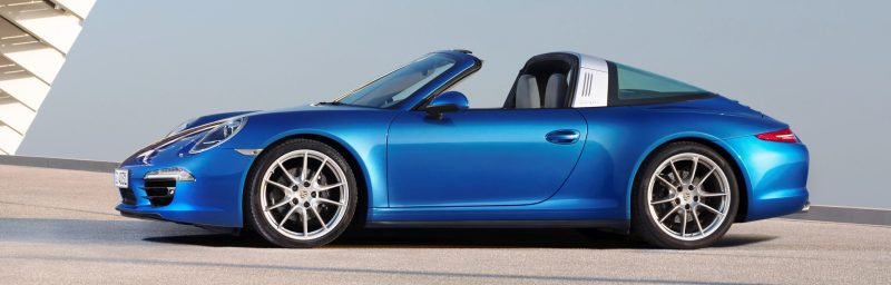 2014 Porsche 911 Targa4 and Targa4S - Roof Animations of 400HP Surf 'n Turf Supercar 11