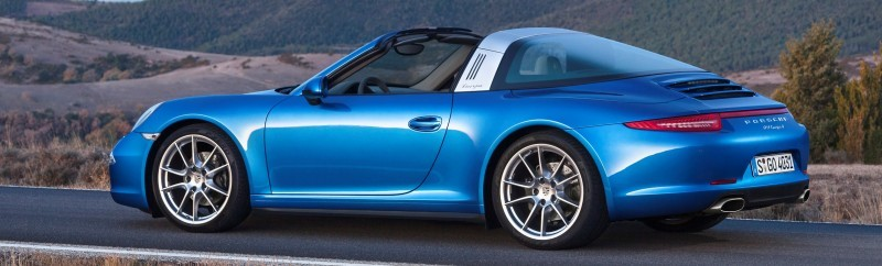 2014 Porsche 911 Targa4 and Targa4S - Roof Animations of 400HP Surf 'n Turf Supercar 2