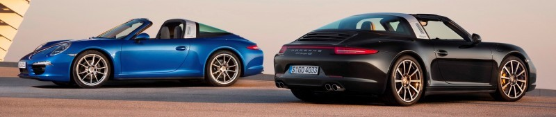2014 Porsche 911 Targa4 and Targa4S - Roof Animations of 400HP Surf 'n Turf Supercar 4