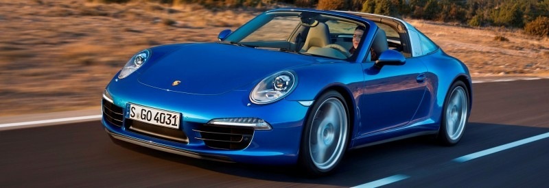 2014 Porsche 911 Targa4 and Targa4S - Roof Animations of 400HP Surf 'n Turf Supercar 5