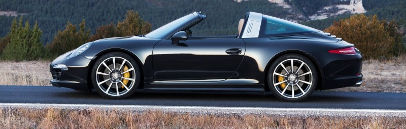 2014 Porsche 911 Targa4 and Targa4S - Roof Animations of 400HP Surf 'n Turf Supercar 7