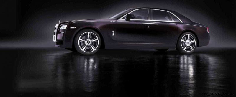 2014 Rolls-Royce Ghost V-Spec Adds Power + Dark Glamour to SWB and LWB 4-Doors 10