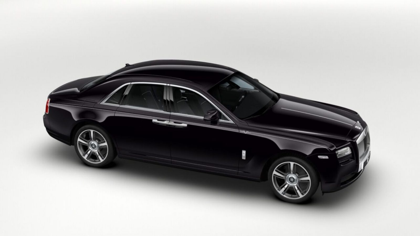 2014 Rolls-Royce Ghost V-Spec Adds Power + Dark Glamour to ...