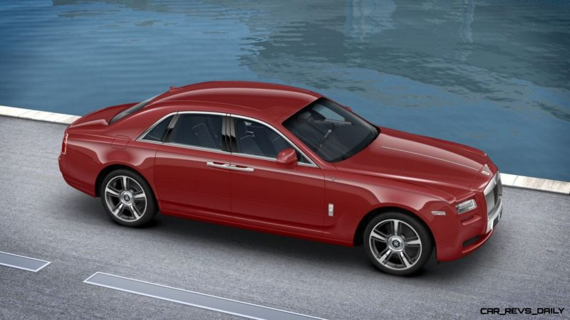 2014 Rolls-Royce Ghost V-Spec Adds Power + Dark Glamour to SWB and LWB 4-Doors 15