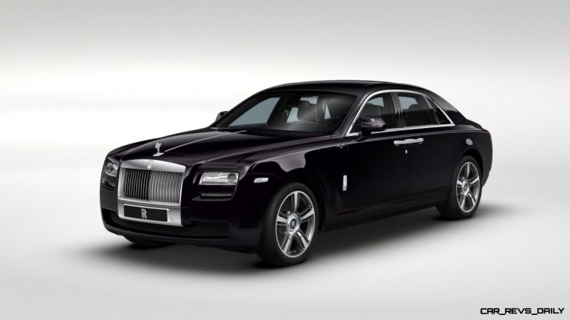 2014 Rolls-Royce Ghost V-Spec Adds Power + Dark Glamour to SWB and LWB 4-Doors 16