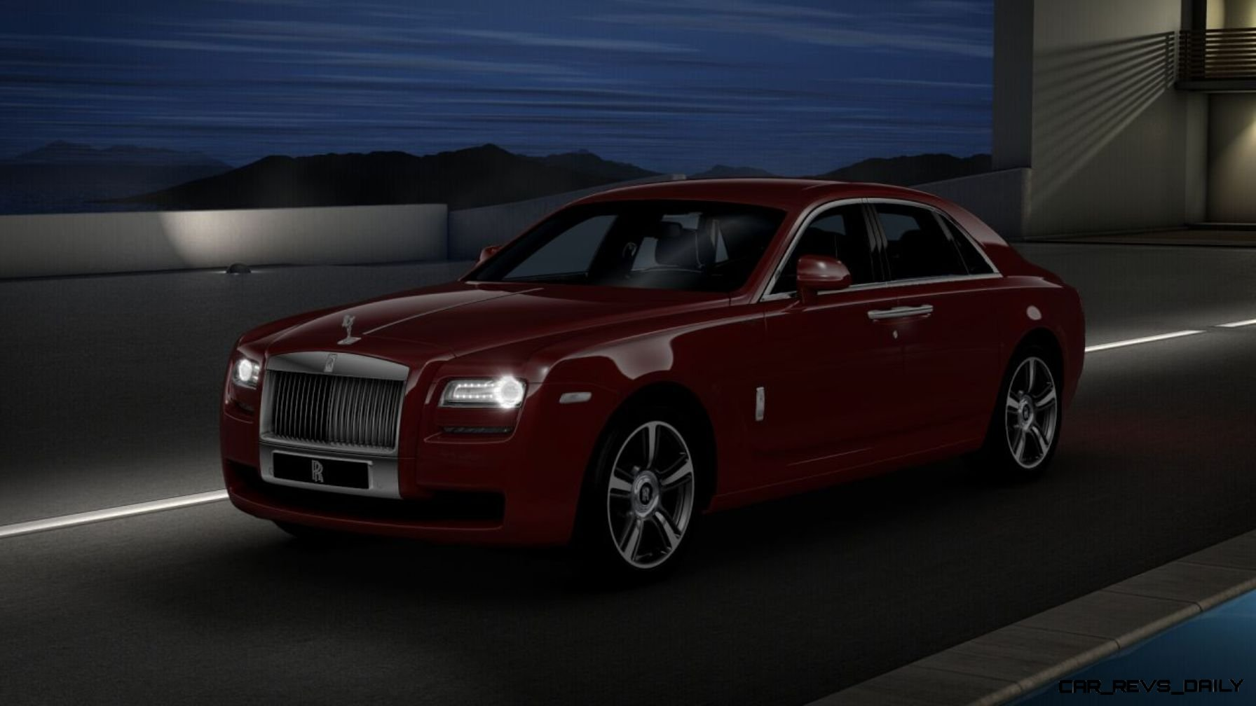 2014 rolls royce ghost v spec adds power dark glamour to swb and lwb 4 doors. Black Bedroom Furniture Sets. Home Design Ideas