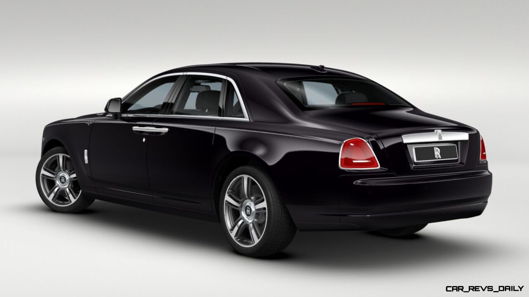 2014 Rolls-Royce Ghost V-Spec Adds Power + Dark Glamour to SWB and