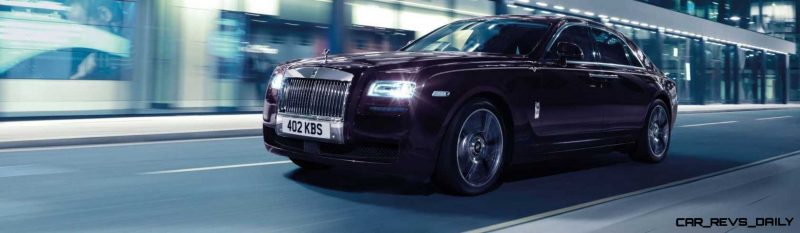 2014 Rolls-Royce Ghost V-Spec Adds Power + Dark Glamour to SWB and LWB 4-Doors 2