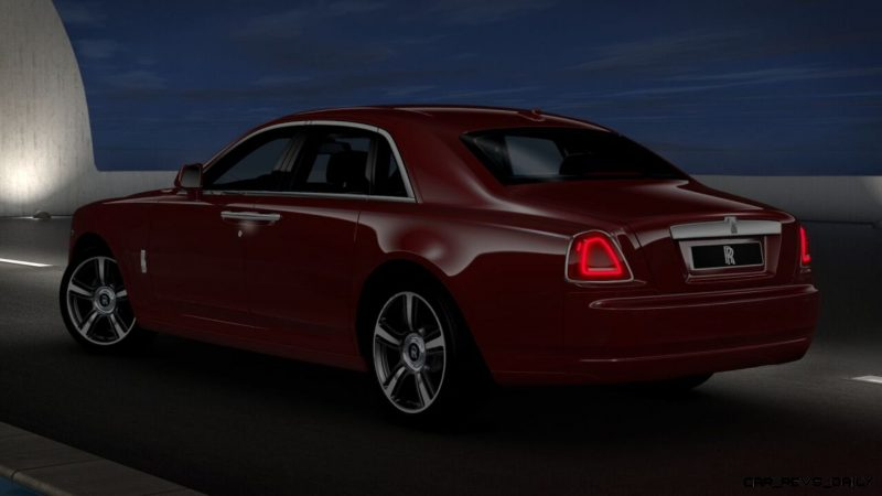 2014 Rolls-Royce Ghost V-Spec Adds Power + Dark Glamour to SWB and LWB 4-Doors 20