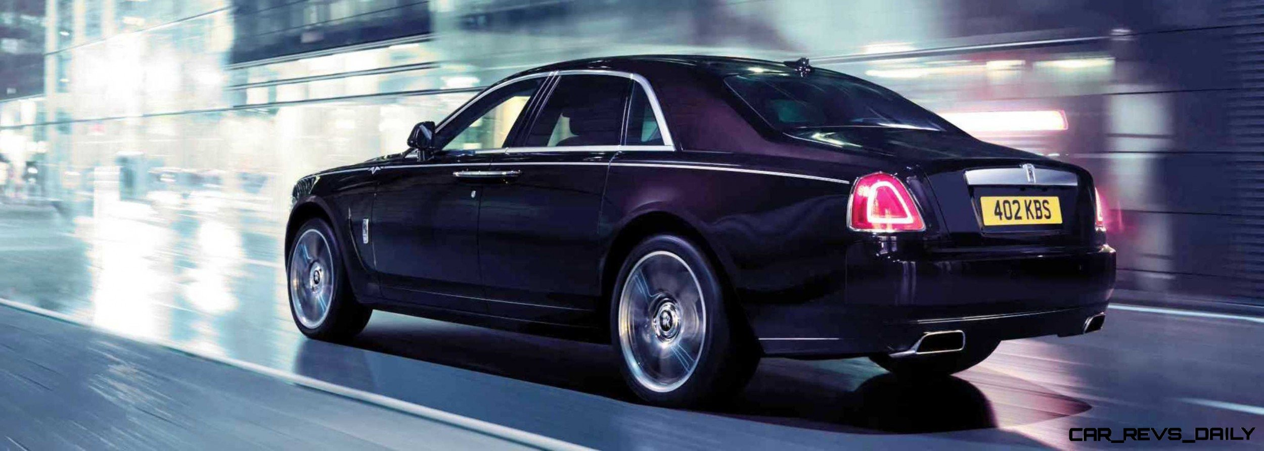 2014 rolls royce ghost v spec adds power dark glamour to swb and lwb 4 doors 4. Black Bedroom Furniture Sets. Home Design Ideas