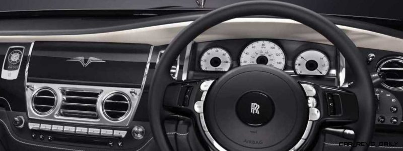 2014 Rolls-Royce Ghost V-Spec Adds Power + Dark Glamour to SWB and LWB 4-Doors 7