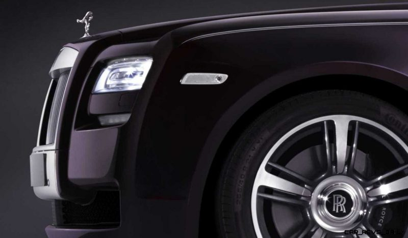 2014 Rolls-Royce Ghost V-Spec Adds Power + Dark Glamour to SWB and LWB 4-Doors 9