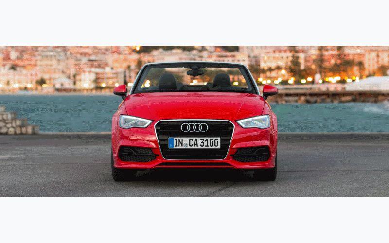 2015 Audi A3 Cabrio Animated GIF