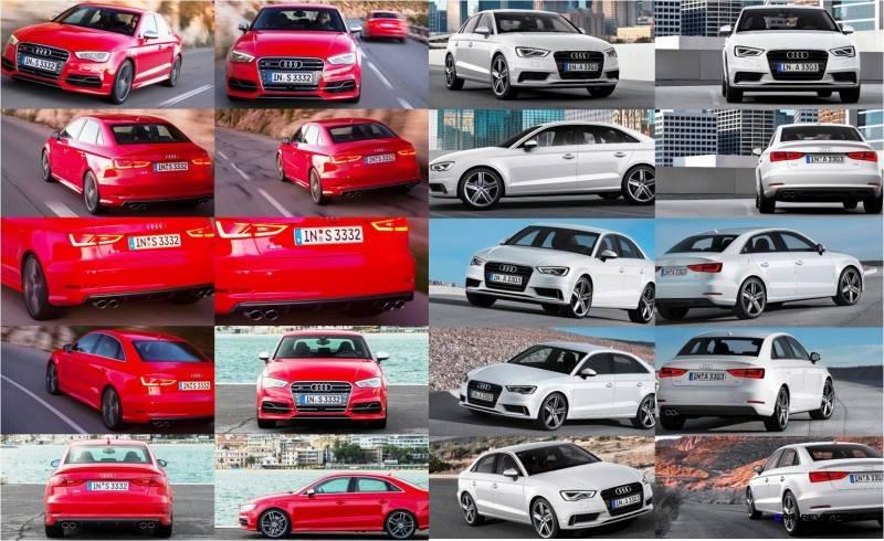 2015 Audi S3 and A3 Sedan - Exterior Tileboard