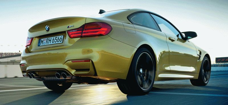 2015 BMW M4 GIF new