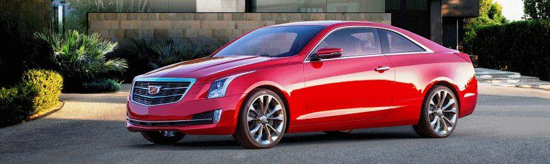2015 Cadillac ATS Coupe GIF