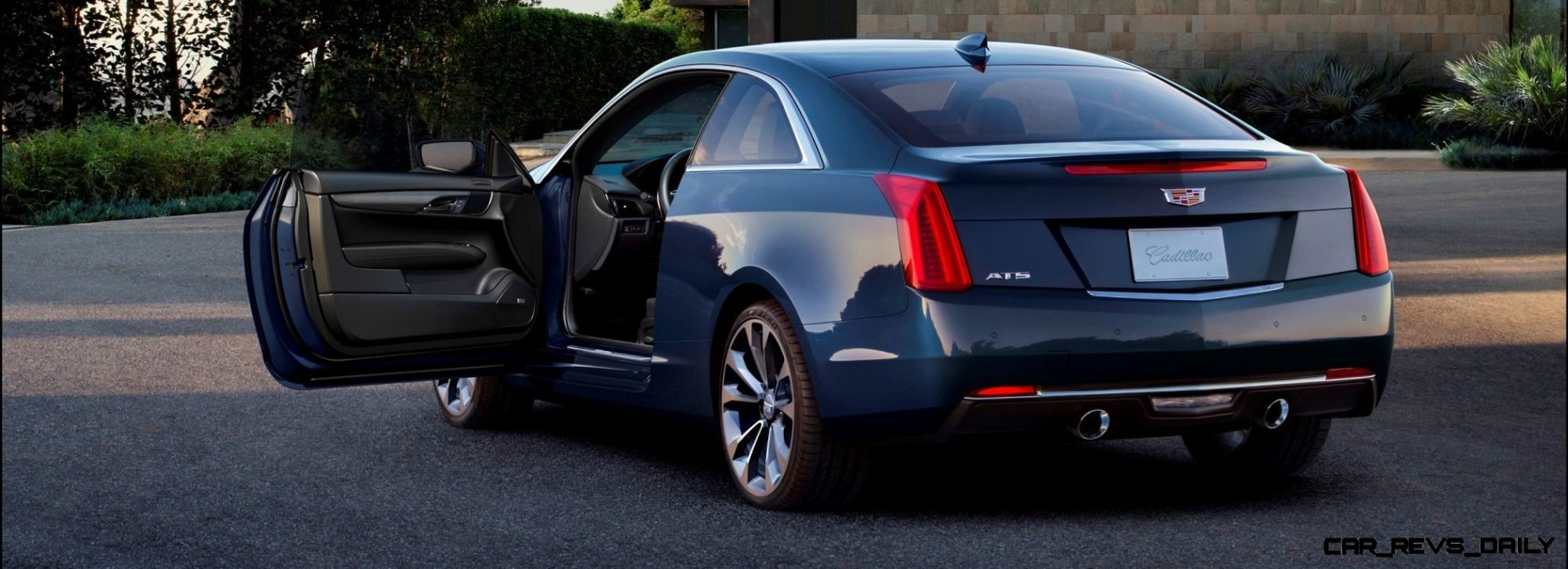 2015 Cadillac ATS Coupe Includes Overboost and 5 6s 0-60 Sprint   As