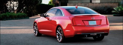 2015 Cadillac ATS Coupe Includes Overboost and 5