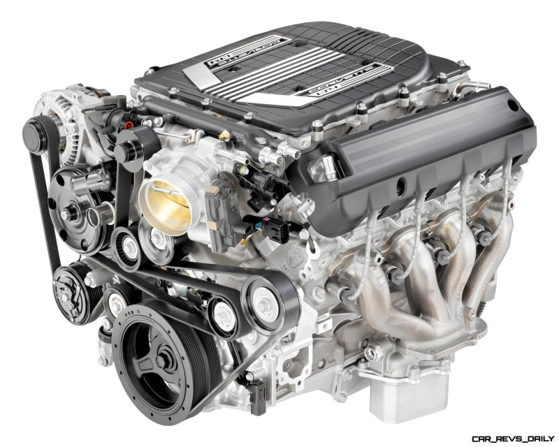 "2015 ""LT4"" 6.2L V-8 AFM VVT DI SC (LT4) for Chevrolet Corvette Z06"