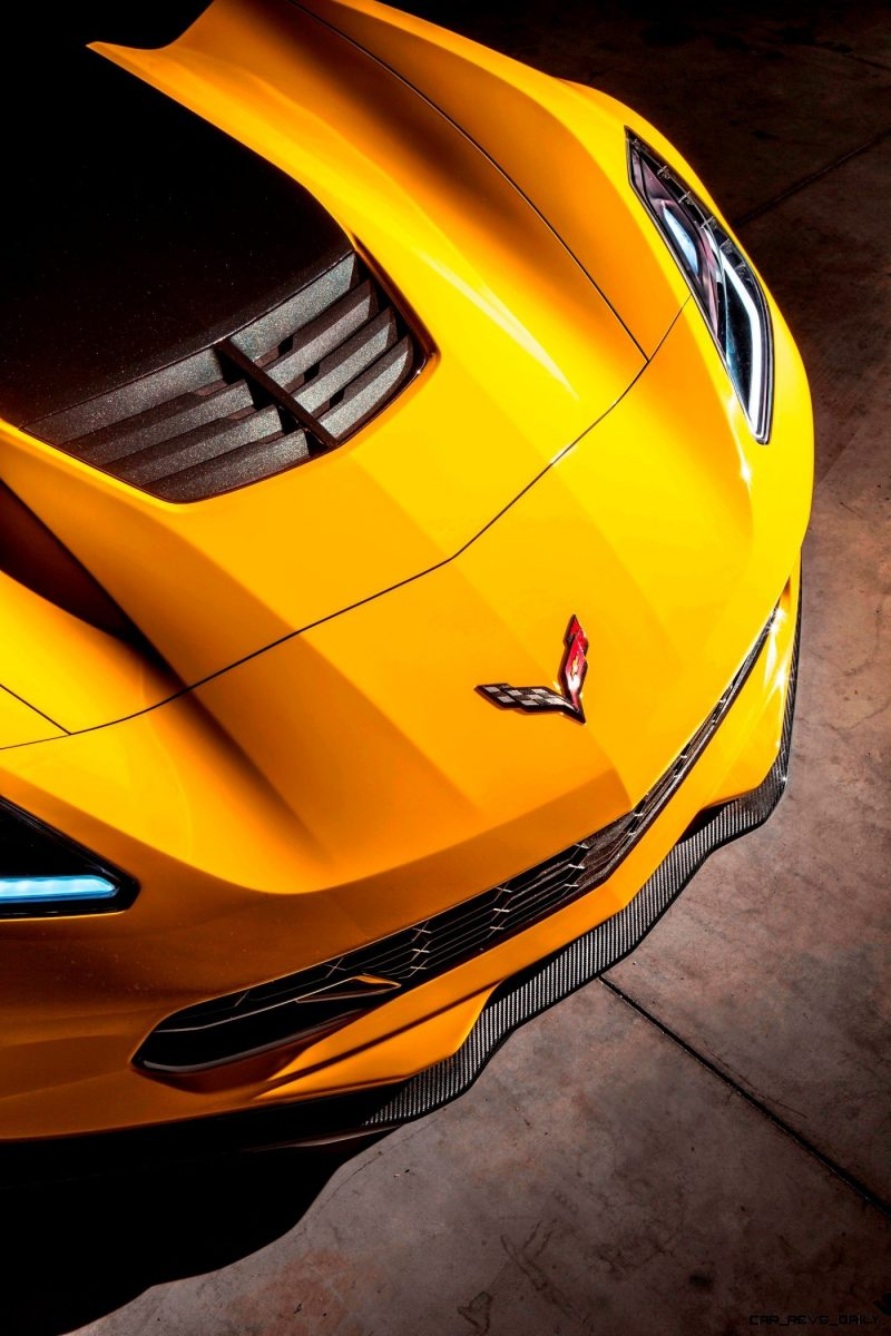 The 2015 Chevrolet Corvette Z06 with the available Z07 package