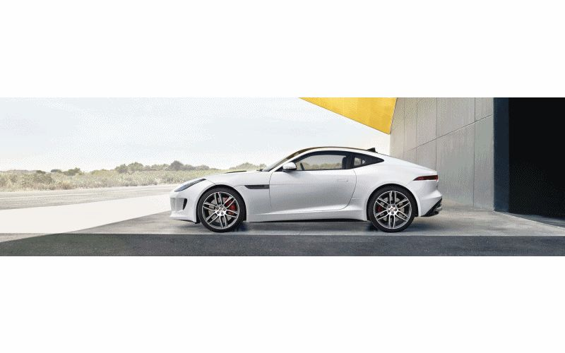 2015 F-TYPE R Animated GIF