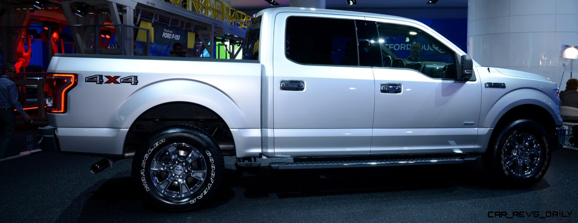 2015 FORD F-150 Almost Unbelieveably New - $14B Golden Goose 19