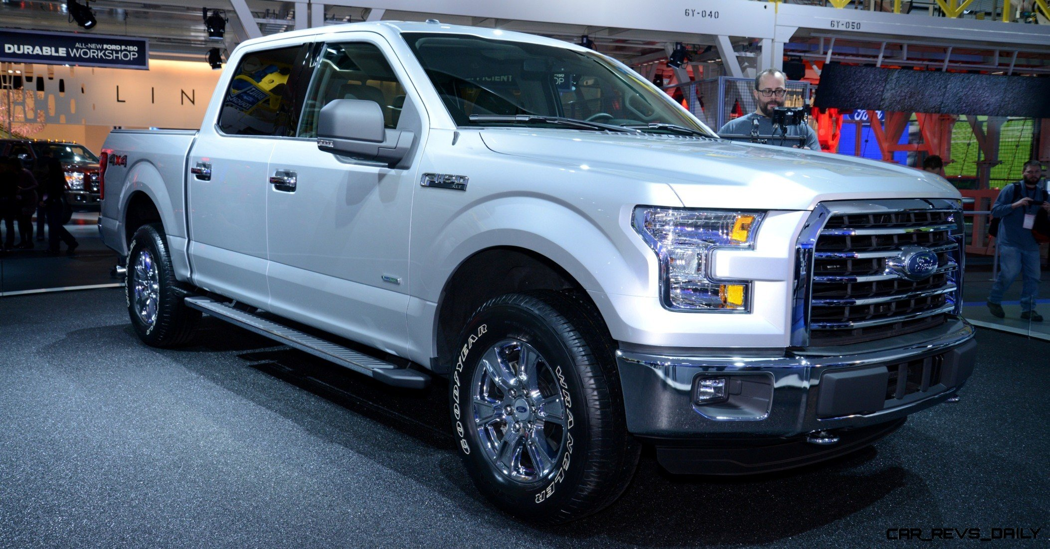 2015 FORD F-150 Almost Unbelieveably New - $14B Golden Goose 21