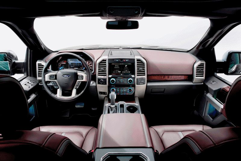 2015 FORD F-150 Almost Unbelieveably New INTERIOR GIF