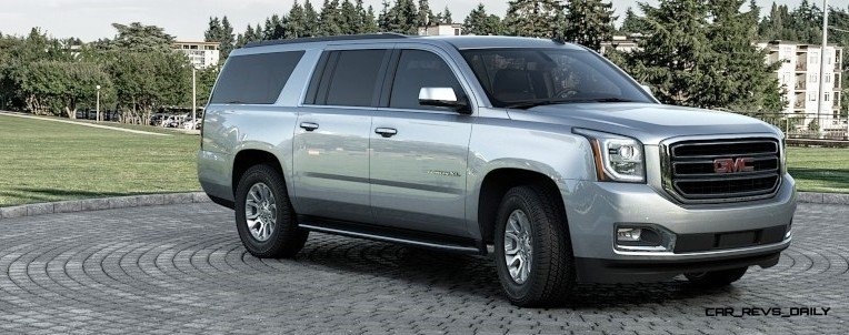 2015 GMC Yukon XL - Animated Turntables of 9 Color Choices 13
