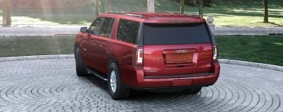 2015 GMC Yukon XL - Animated Turntables of 9 Color Choices 193