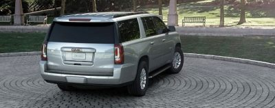 2015 GMC Yukon XL - Animated Turntables of 9 Color Choices 20