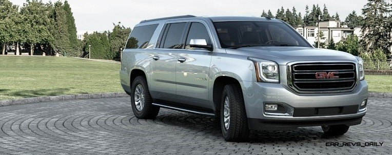 2015 GMC Yukon XL - Animated Turntables of 9 Color Choices 22