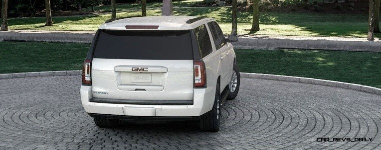 2015 GMC Yukon XL - Animated Turntables of 9 Color Choices 258