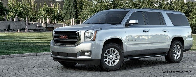 2015 GMC Yukon XL - Animated Turntables of 9 Color Choices 26