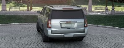 2015 GMC Yukon XL - Animated Turntables of 9 Color Choices 32