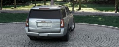 2015 GMC Yukon XL - Animated Turntables of 9 Color Choices 36