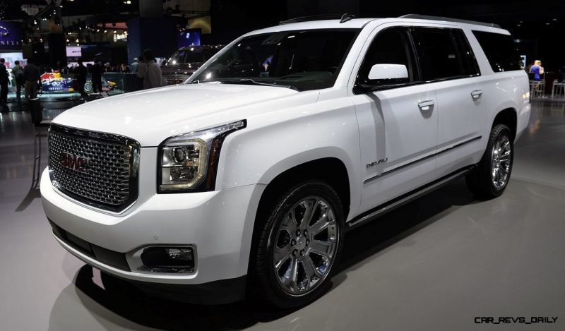2015 GMC Yukon XL - Animated Turntables of 9 Color Choices 387