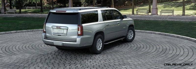 2015 GMC Yukon XL - Animated Turntables of 9 Color Choices 4