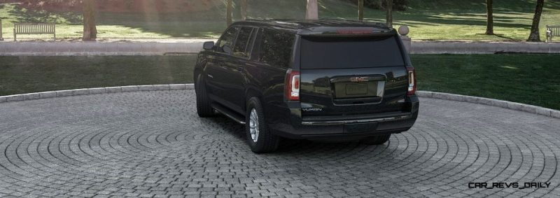 2015 GMC Yukon XL - Animated Turntables of 9 Color Choices 45