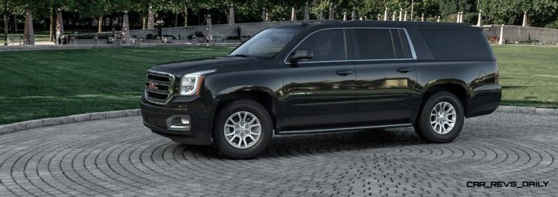 2015 GMC Yukon XL - Animated Turntables of 9 Color Choices 60