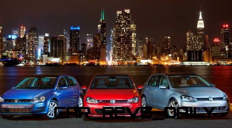2015 VW Golf TSI 3dr Joins TDI and GTI in Brooklyn en Route to Detroit Show 24