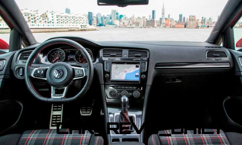 2015 VW Golf TSI 3dr Joins TDI and GTI in Brooklyn en Route to Detroit Show 5
