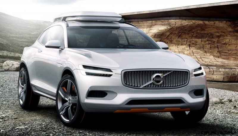 2015 Volvo XC90 Closely Previewed by New XC Coupe Concept for Detroit 10