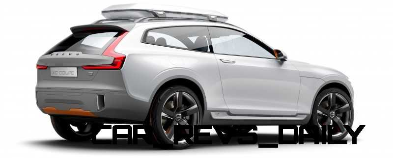 2015 Volvo XC90 Closely Previewed by New XC Coupe Concept for Detroit 15