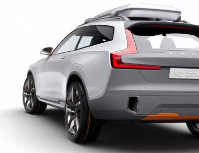 2015 Volvo XC90 Closely Previewed by New XC Coupe Concept for Detroit 17