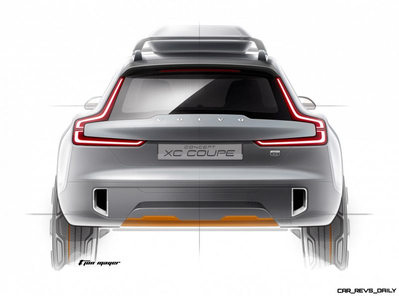 2015 Volvo XC90 Closely Previewed by New XC Coupe Concept for Detroit 2