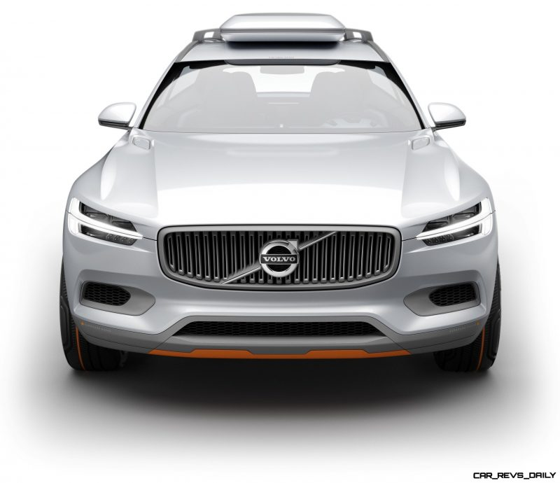 2015 Volvo XC90 Closely Previewed by New XC Coupe Concept for Detroit 20