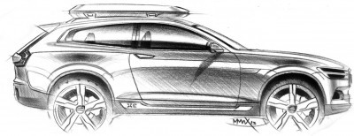 2015 Volvo XC90 Closely Previewed by New XC Coupe Concept for Detroit 23